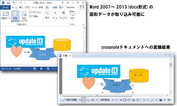 Wordインポート-図形取り込み例